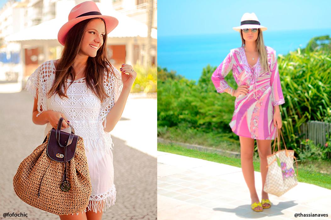 Chapéu Panamá no Verão
